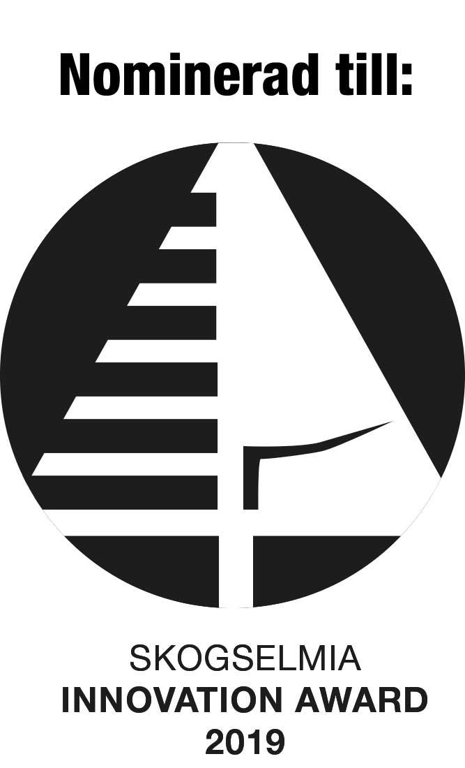 Nominerade till SkogsElmia Innovation Awards