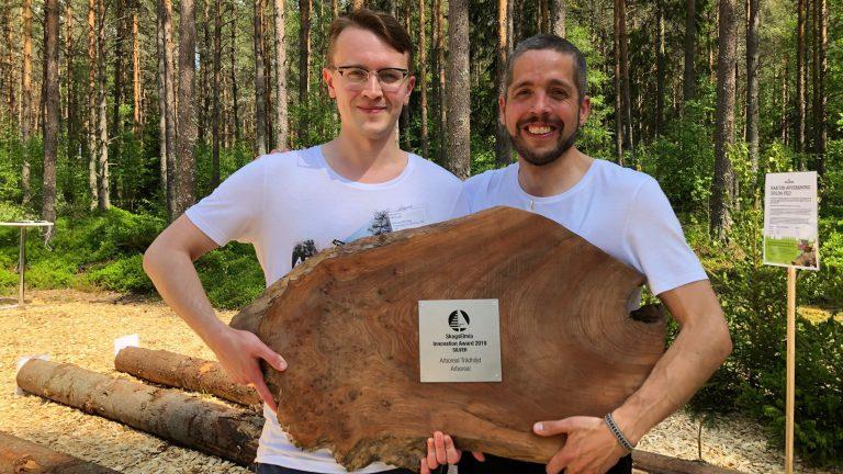 Arboreal får pris på SkogsElmia
