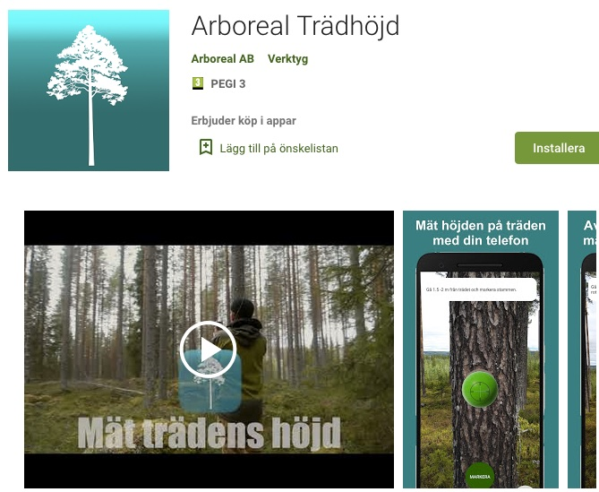 Arboreal Trädhöjd i Google Play