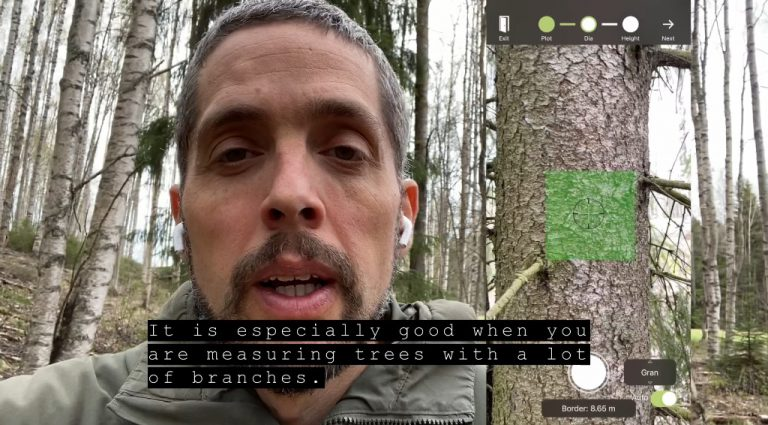 Arboreal Forest update – how accurate is the Lidar sensor?